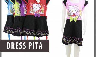 Pusat Grosir Baju Murah Solo Klewer 2021 Bisnis Dress Pita Anak Murah di Solo