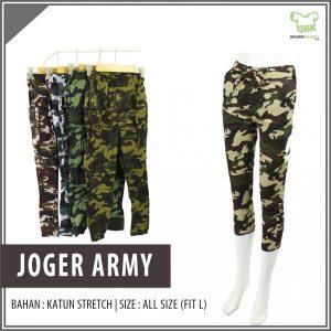 Pusat Grosir Baju Murah Solo Klewer 2021 Jogger Army