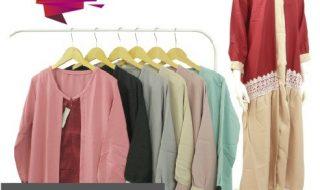Pusat Grosir Baju Murah Solo Klewer 2019 Distributor Gamis Moscrepe Renda Murah di Solo
