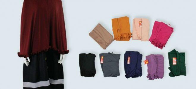 Pusat Grosir Baju Murah Solo Klewer 2021 Distributor Kerudung Syar'i Gotik Murah di Solo