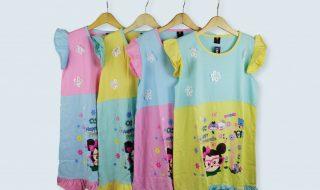 Pusat Grosir Baju Murah Solo Klewer 2019 Konveksi Dress Zahira Anak Termurah di Solo