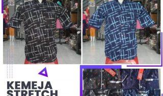Pusat Grosir Baju Murah Solo Klewer 2021 Distributor Kemeja Stretch Dws Pdk Rp. 35.000